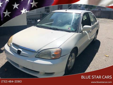 2003 Honda Civic for sale at Blue Star Cars in Jamesburg NJ