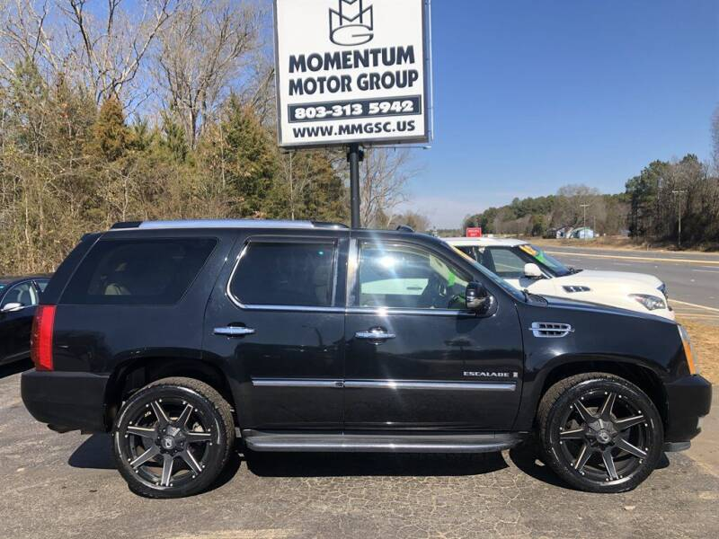 2007 Cadillac Escalade for sale at Momentum Motor Group in Lancaster SC