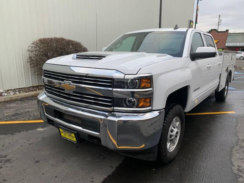 2018 Chevrolet Silverado 2500HD for sale at DAVENPORT MOTOR COMPANY in Davenport WA
