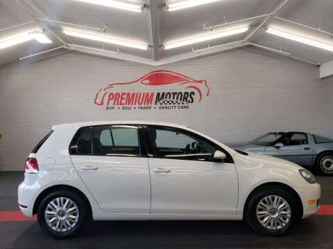 2011 Volkswagen Golf for sale at Premium Motors in Villa Park IL