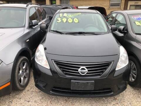 2014 Nissan Versa for sale at NORTH CHICAGO MOTORS INC in North Chicago IL