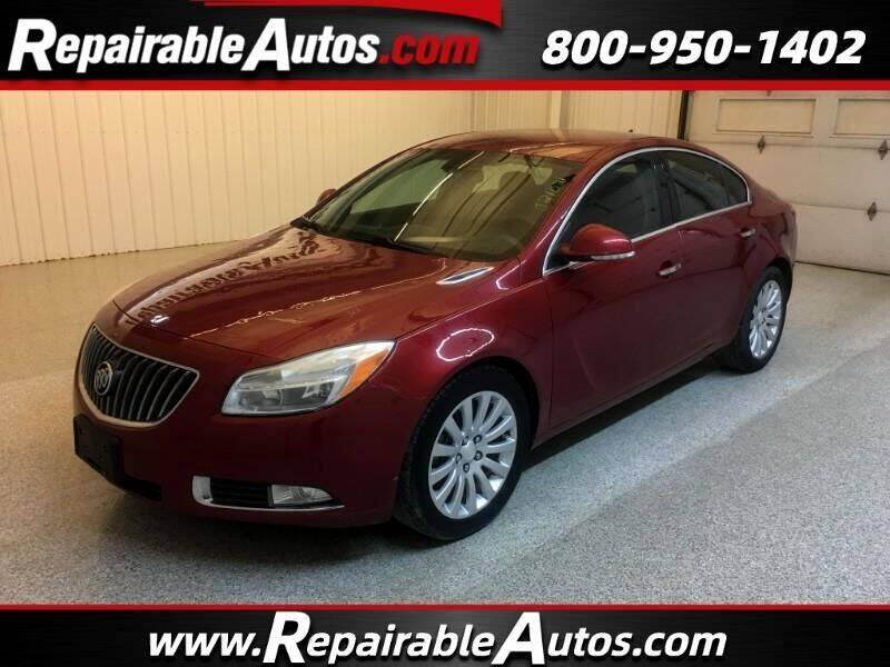 2012 Buick Regal for sale at Ken's Auto in Strasburg ND