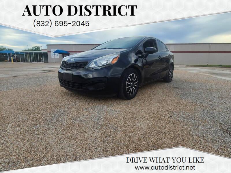 2015 Kia Rio for sale at Auto District in Baytown TX