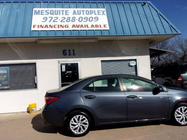 2018 Toyota Corolla for sale at MESQUITE AUTOPLEX in Mesquite TX