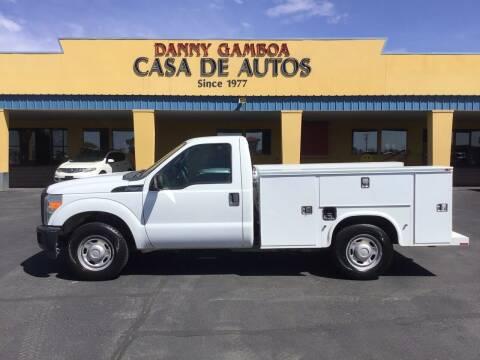 2012 Ford F-250 Super Duty for sale at CASA DE AUTOS, INC in Las Cruces NM