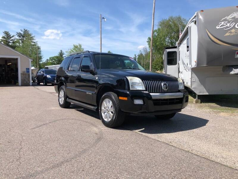 2008 Mercury Mountaineer for sale at Giguere Auto Wholesalers in Tilton NH