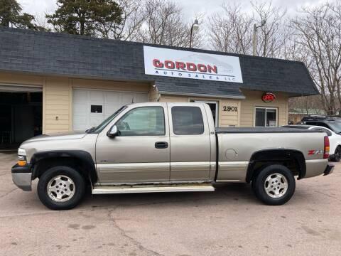 2002 Chevrolet Silverado 1500 for sale at Gordon Auto Sales LLC in Sioux City IA