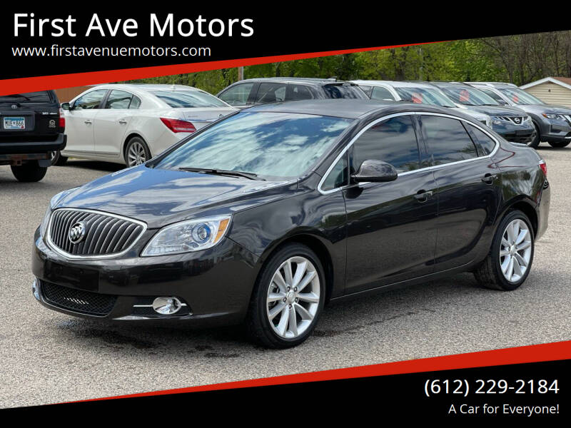 2016 Buick Verano for sale at First Ave Motors in Shakopee MN