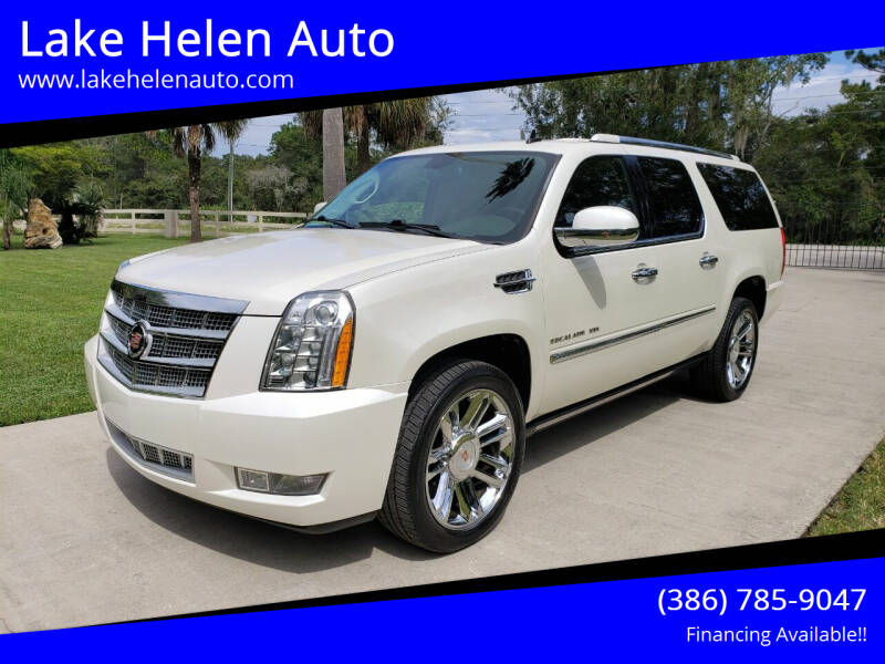 2014 Cadillac Escalade ESV for sale at Lake Helen Auto in Lake Helen FL