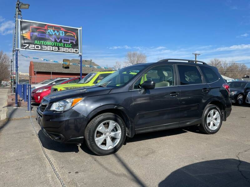 2015 Subaru Forester for sale at AWD Denver Automotive LLC in Englewood CO