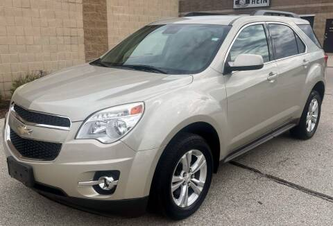 2013 Chevrolet Equinox for sale at Waukeshas Best Used Cars in Waukesha WI
