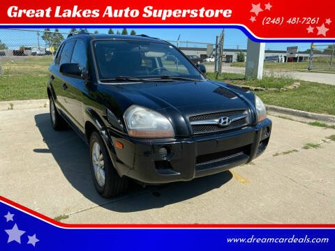 2009 Hyundai Tucson for sale at Great Lakes Auto Superstore in Pontiac MI