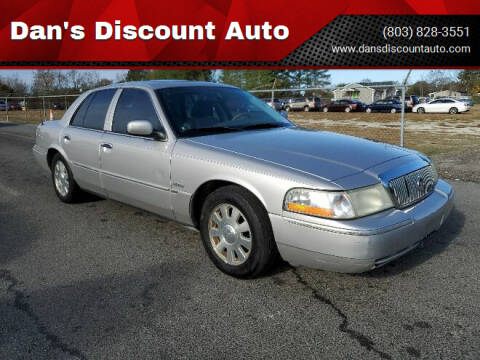 2005 Mercury Grand Marquis for sale at Dan's Discount Auto in Gaston SC