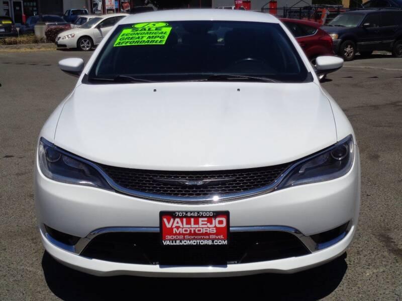2015 Chrysler 200 for sale at Vallejo Motors in Vallejo CA
