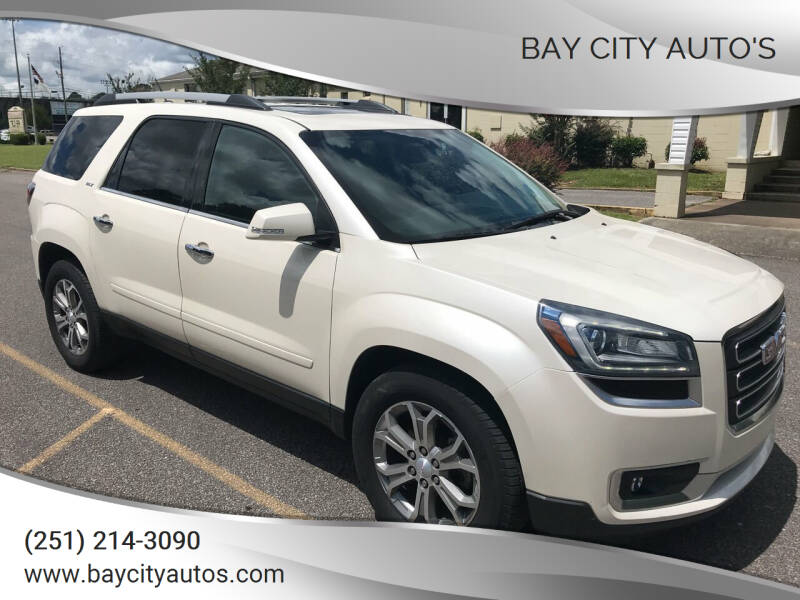 2014 GMC Acadia for sale at Bay City Auto's in Mobile AL