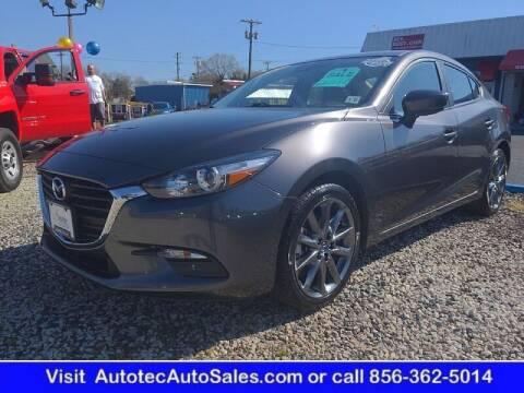 2018 Mazda MAZDA3 for sale at Autotec Auto Sales in Vineland NJ