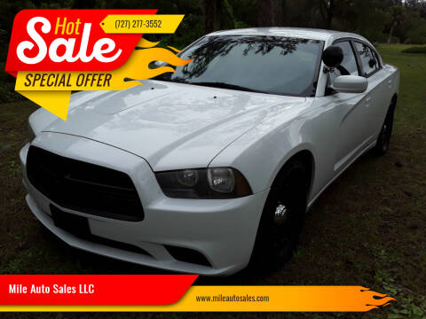 2013 Dodge Charger for sale at Mile Auto Sales LLC in Holiday FL