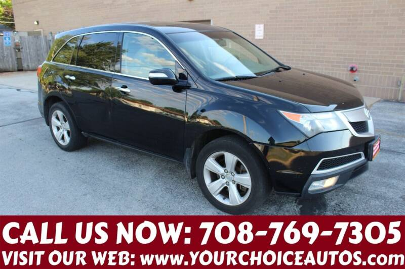2010 Acura MDX for sale at Your Choice Autos in Posen IL