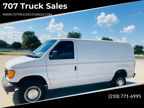 2005 Ford E-Series Cargo for sale at 707 Truck Sales in San Antonio TX
