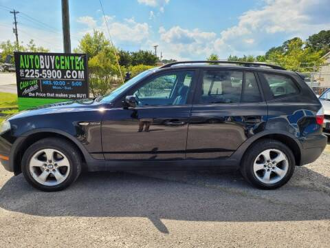 2007 BMW X3 for sale at AutoBuyCenter.com in Summerville SC