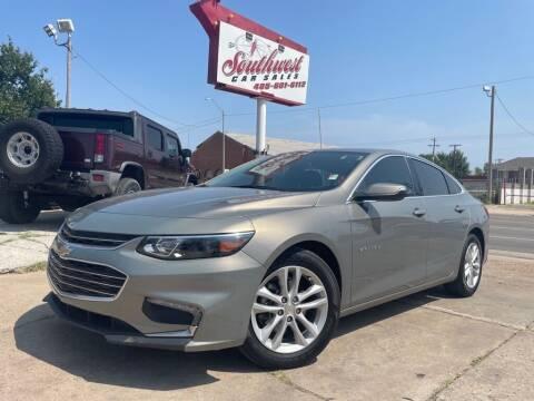 2018 Chevrolet Malibu for sale at Southwest Car Sales in Oklahoma City OK