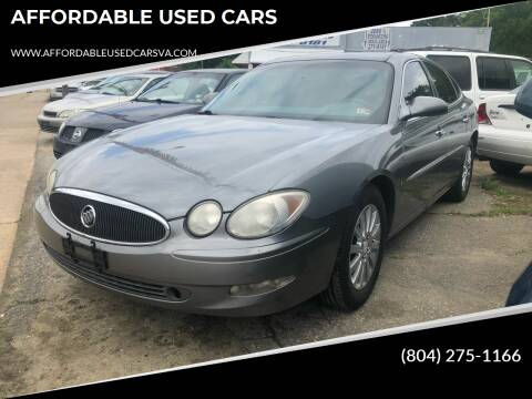 2007 Buick LaCrosse for sale at AFFORDABLE USED CARS in Richmond VA