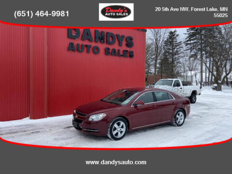 2011 Chevrolet Malibu for sale at Dandy's Auto Sales in Forest Lake MN