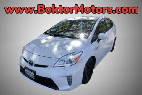 2015 Toyota Prius for sale at Boktor Motors in North Hollywood CA
