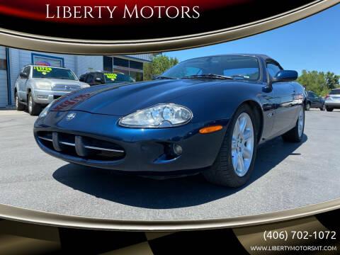 2000 Jaguar XK-Series for sale at Liberty Motors in Billings MT