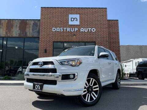 2017 Toyota 4Runner for sale at Dastrup Auto in Lindon UT