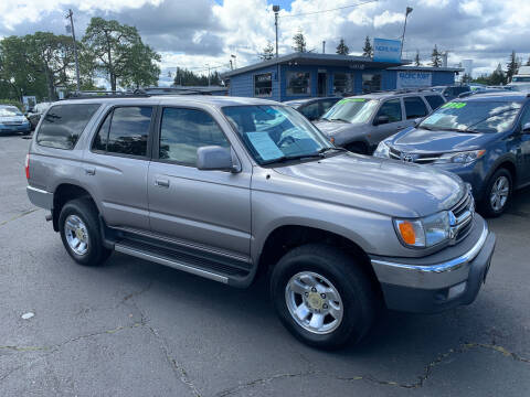 2001 Toyota 4Runner for sale at Pacific Point Auto Sales in Lakewood WA