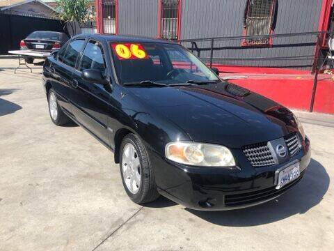 2006 Nissan Sentra for sale at The Lot Auto Sales in Long Beach CA