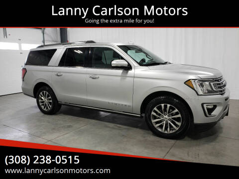 2018 Ford Expedition MAX for sale at Lanny Carlson Motors in Kearney NE