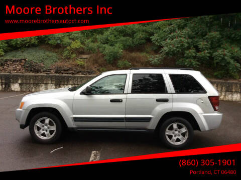 2005 Jeep Grand Cherokee for sale at Moore Brothers Inc in Portland CT