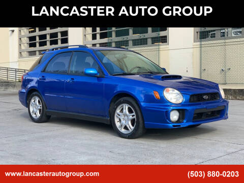 2002 Subaru Impreza for sale at LANCASTER AUTO GROUP in Portland OR