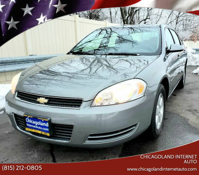 2008 Chevrolet Impala for sale at Chicagoland Internet Auto - 410 N Vine St New Lenox IL, 60451 in New Lenox IL