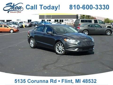 2017 Ford Fusion for sale at Jamie Sells Cars 810 in Flint MI