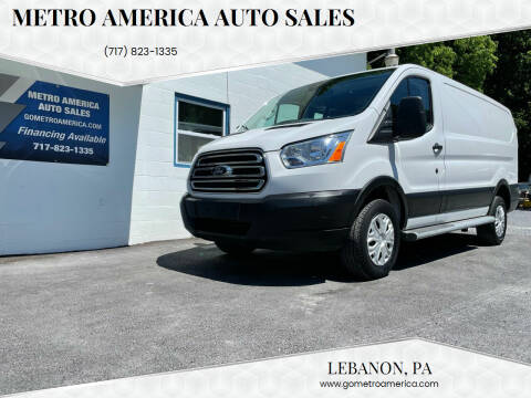 2019 Ford Transit Cargo for sale at METRO AMERICA AUTO SALES of Lebanon in Lebanon PA
