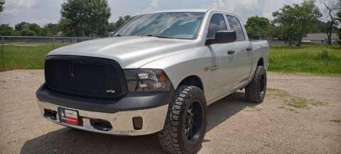 2013 RAM Ram Pickup 1500 for sale at LA PULGA DE AUTOS in Dallas TX