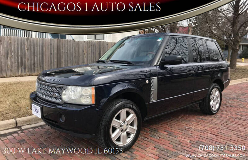 2006 Land Rover Range Rover for sale at RIVER AUTO SALES CORP in Maywood IL