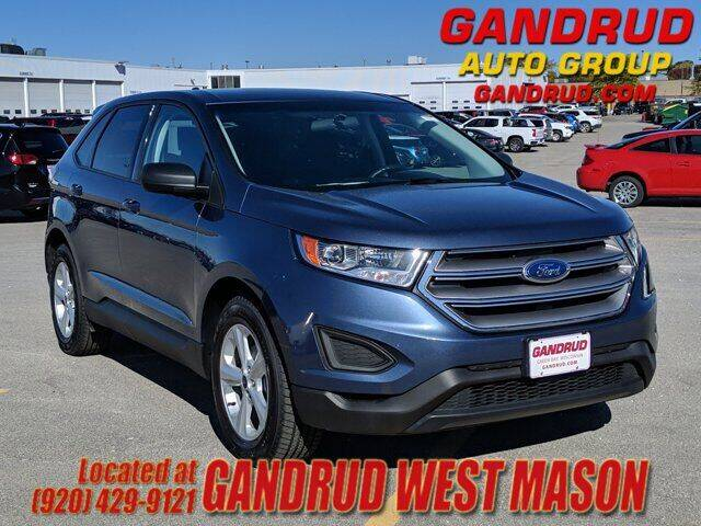 2018 Ford Edge for sale at GANDRUD CHEVROLET in Green Bay WI
