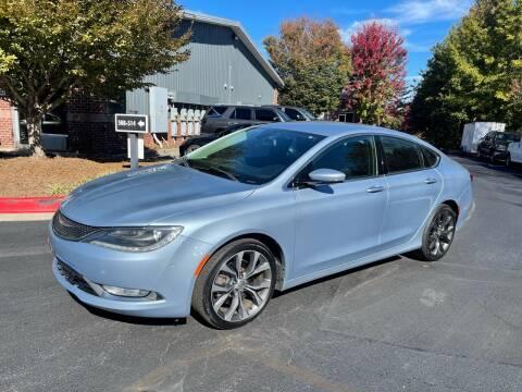 2015 Chrysler 200 for sale at MJ AUTO BROKER in Alpharetta GA