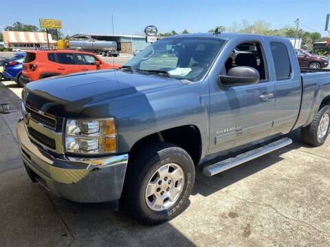 2012 Chevrolet Silverado 1500 for sale at THE COLISEUM MOTORS in Pensacola FL