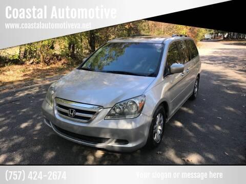2006 Honda Odyssey for sale at Coastal Automotive in Virginia Beach VA