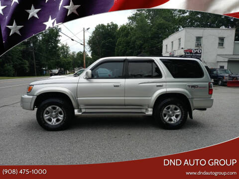 2001 Toyota 4Runner for sale at DND AUTO GROUP in Belvidere NJ