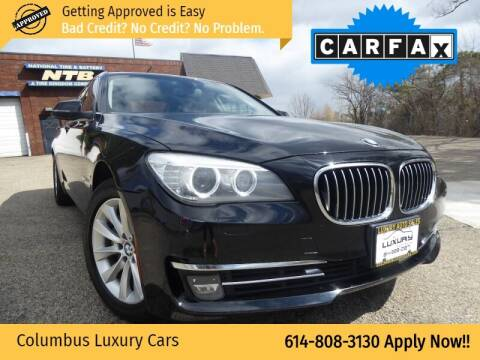 2013 BMW 7 Series for sale at Columbus Luxury Cars in Columbus OH