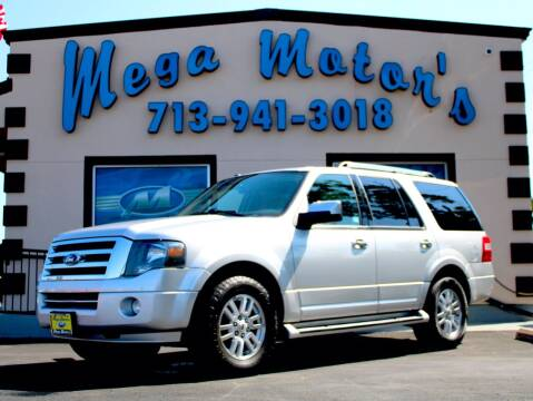 2013 Ford Expedition for sale at MEGA MOTORS in South Houston TX