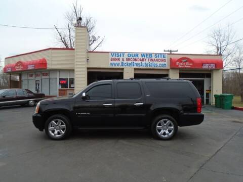 2009 GMC Yukon XL for sale at Bickel Bros Auto Sales, Inc in Louisville KY