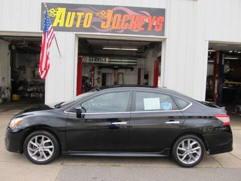 2013 Nissan Sentra for sale at AUTO JOCKEYS LLC in Merrill WI