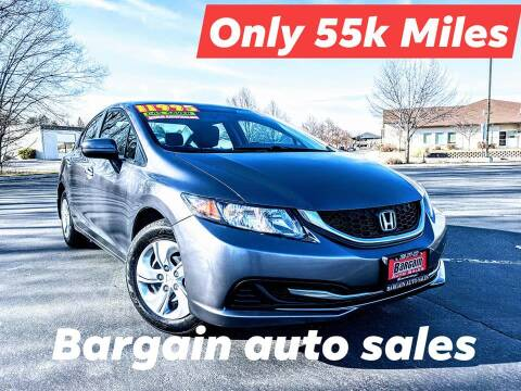 2015 Honda Civic for sale at Bargain Auto Sales in Garden City ID